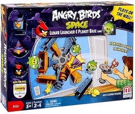 Mattel Angry Birds Space Lunar Launcher & Planet Base Game