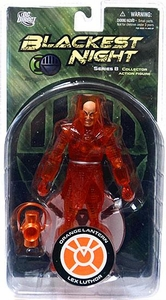 DC Direct Green Lantern Blackest Night Series 8 Action Figure Orange Lantern Lex Luthor