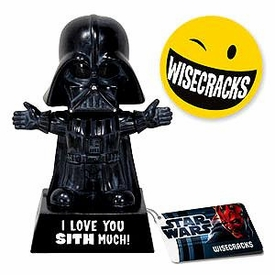Star Wars Wacky Wisecrack Figure Darth Vader [I Love You Sith Much]