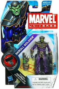 Marvel Universe 3 3/4 Inch Series 9 Action Figure #24 Skrull Soldier