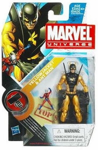 Marvel Universe 3 3/4 Inch Series 11 Action Figure #32 Yellow Jacket with Ant Man