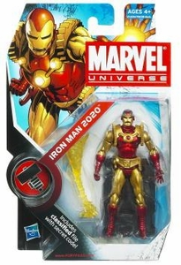 Marvel Universe 3 3/4 Inch Series 11 Action Figure #33 Iron Man 2020