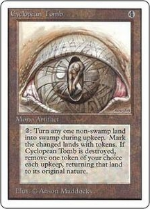 Magic the Gathering Unlimited Edition Single Card Rare Cyclopean Tomb