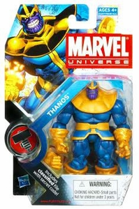 Marvel Universe 3 3/4 Inch Series 11 Action Figure #34 Thanos