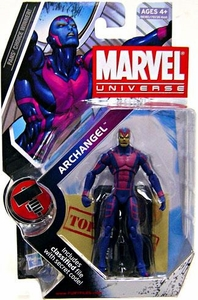 Marvel Universe 3 3/4 Inch Series 8 Action Figure #15 Archangel [Gold Face Variant]