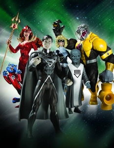 DC Direct Green Lantern Blackest Night Series 7 Set of 4 Action Figures [Superman, Terra with Scar, Mera & Arkillo]