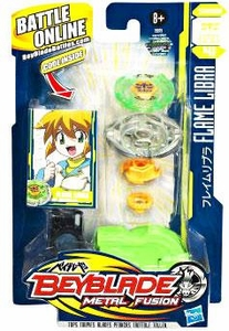 Beyblades Metal Fusion Stamina Battle Top #BB48 Flame Libra