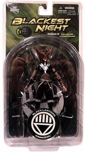 DC Direct Green Lantern Blackest Night Series 6 Action Figure Black Lantern Hawkgirl