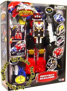 Power Rangers Operation Overdrive Deluxe Figure Drivemax Megazord