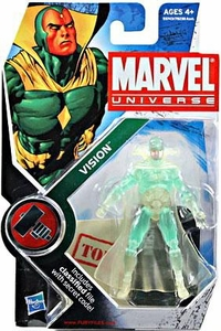 Marvel Universe 3 3/4 Inch Series 6 Action Figure #6 Vision [Phasing Variant]