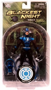 DC Direct Green Lantern Blackest Night Series 6 Action Figure Blue Lantern Flash