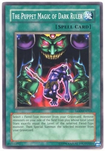 YuGiOh Legacy of Darkness Single Card Common LOD-013 The Puppet Magic of Dark Ruler