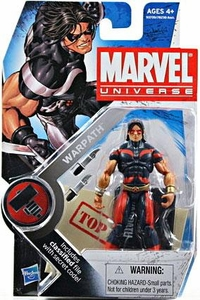 Marvel Universe 3 3/4 Inch Series 6 Action Figure #3 Warpath [Blue & Red]