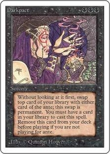 Magic the Gathering Unlimited Edition Single Card Rare Darkpact