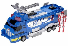 Power Rangers Operation Overdrive Deluxe Vehicle Drivemax Command Truck [Blue]