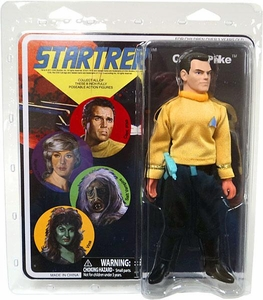 Diamond Select Star Trek Original Series Cloth Retro Action Figure Series 8 Capt. Pike