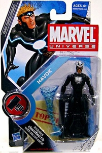 Marvel Universe 3 3/4 Inch Series 8 Action Figure #18 Havok [Original Costume Variant]