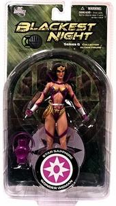 DC Direct Green Lantern Blackest Night Series 6 Action Figure Star Sapphire Wonder Woman