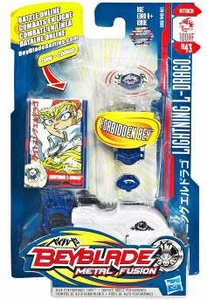 Beyblades Metal Fusion Attack Battle Top #BB43 Lightning L-Drago [Left Spinning!]