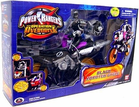 Power Rangers Operation Overdrive Black Zordtek Cycle