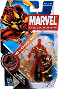 Marvel Universe 3 3/4 Inch Series 9 Action Figure #21 Iron Spider-Man [Translucent Variant]