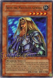 YuGiOh Legacy of Darkness Single Card Ultra Rare LOD-016 Freed The Matchless General