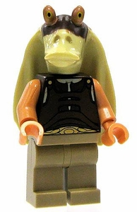 LEGO Star Wars LOOSE Mini Figure Gungan Warrior [Printed Head]