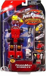 Power Rangers Operation Overdrive TransMax Mega Vehicle & Figure Set A