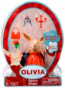 Olivia 3 Inch Mini Figure Opera Singer Olivia BLOWOUT SALE!