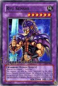 YuGiOh Legacy of Darkness Single Card Super Rare LOD-019 Ryu Senshi