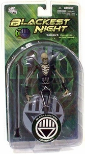 DC Direct Green Lantern Blackest Night Series 5 Action Figure Black Lantern Deadman