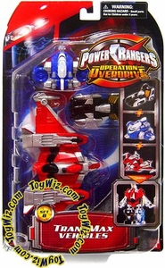 Power Rangers Operation Overdrive TransMax Mega Vehicle & Figure Set B