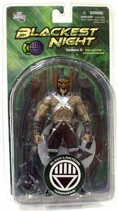 DC Direct Green Lantern Blackest Night Series 5 Action Figure Black Lantern Hawkman
