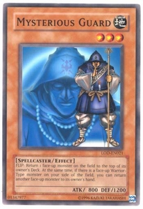 YuGiOh Legacy of Darkness Single Card Common LOD-021 Mysterious Guard