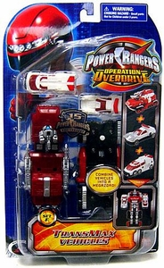 Power Rangers Operation Overdrive TransMax Vehicles Set F