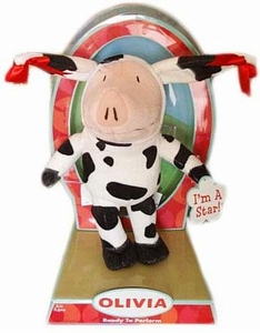 Olivia 9 Inch Plush Figure Ready to Perform Olivia [Cow Costume]