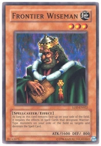 YuGiOh Legacy of Darkness Single Card Common LOD-022 Frontier Wiseman