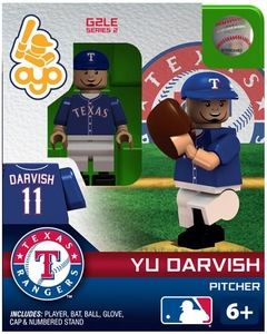 OYO Baseball MLB Generation 2 Building Brick Minifigure Yu Darvish [Texas Rangers]