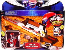 Power Rangers Operation Overdrive Role Play Gear Red Ranger Drive Defender