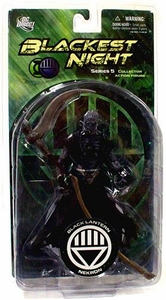 DC Direct Green Lantern Blackest Night Series 5 Action Figure Black Lantern Nekron