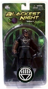 DC Direct Green Lantern Blackest Night Series 4 Action Figure Black Hand