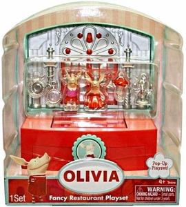 Olivia Pop-Up Micro Playset Fancy Resturaunt