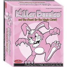 Killer Bunnies and the Quest for the Magic Carrot Trading Card Game Perfectly Pink Booster Deck