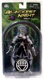 DC Direct Green Lantern Blackest Night Series 4 Action Figure Black Lantern Firestorm