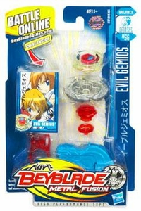 Beyblades Metal Fusion Balance Battle Top #BB56 Evil Gemios