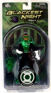 DC Direct Green Lantern Blackest Night Series 4 Action Figure Kyle Rayner