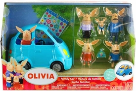 Olivia Vehicle Playset Family Car