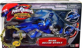 Power Rangers Operation Overdrive Hovertek (Helio) Cycle with Blue Ranger Action Figure