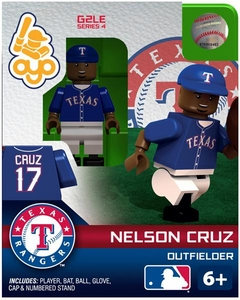 OYO Baseball MLB Generation 2 Building Brick Minifigure Nelson Cruz [Texas Rangers]