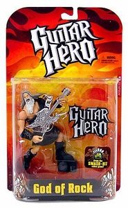 McFarlane Toys Guitar Hero Action Figure God of Rock [Black Robe]